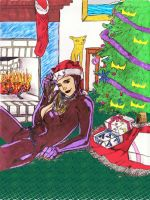 "Catwoman Christmas  ""Colab"" by CDL113"