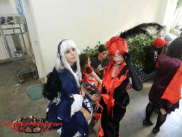 Suigintou and Grell anime fantasy 2012 by Happyaya