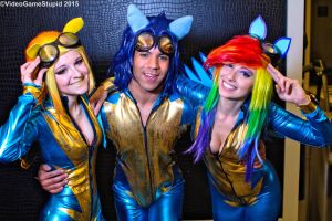 Katsucon 2015 - Wonderbolts(PS) 18 by VideoGameStupid