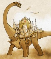 Metroplodocus - Dinosaur Day by Montreuil