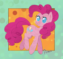 Cutout Pinkie Pie by Airenu-ish
