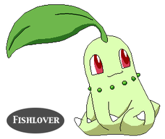 Chikorita Pixel by Fishlover