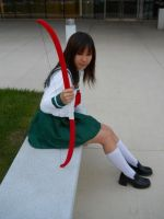 Thoughts - Kagome by TokalaAngel