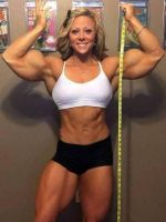 Danielle muscled up by Turbo99