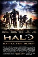 Halo: Battle for Reach Poster by Mihaii