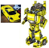 Sunstreaker Movie concept clrs by Prowler974
