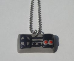 NES Controller Necklace by kiddomerriweather
