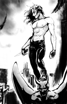 The Crow - Eric Draven by megathunder99