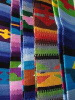 Colorful scarves by maryhelen