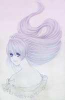 Flowing Hair by delivess