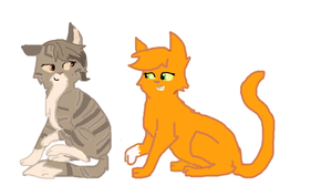 Squirrelflight And Leafpool by Yunixis