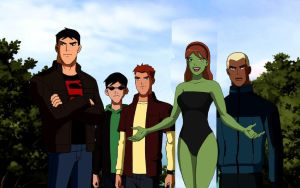 Young Justice S1 E3 Welcome To Happy Harbor 2011 by EspioArtwork31
