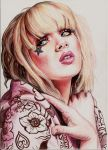 Miss Mosh - Sparkle Sparkle in colour pencil by Pevansy