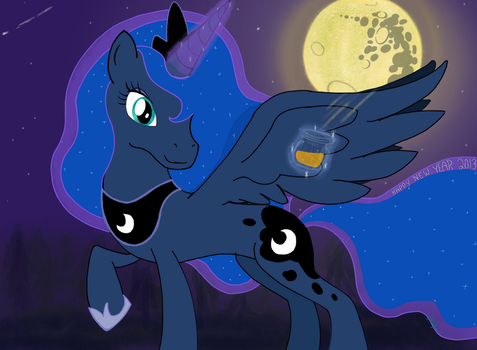 Luna's New Year Moonshine by jadielyn