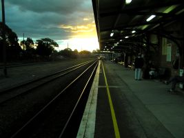 Railway Station by brunette-from-oz