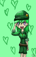 Emerald Chibi by CautiousInsanity