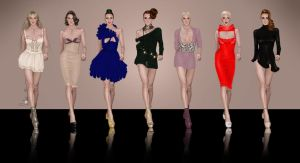 Fashion designs by Lideeh 5 by Lideeh