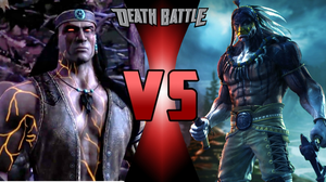 Nightwolf vs. Chief Thunder by MetalHarbinger084