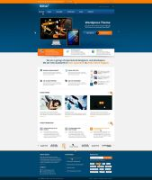 BizFolio Responsive Unique PSD Theme by brillianthemes