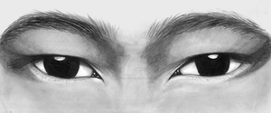 Asian eyes by ThestralWizard