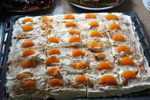 Cinnoman Cake with Mandarins by UnTill-Death