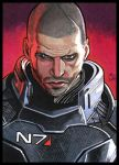 MASS EFFECT  Shepard PSC by MJasonReed