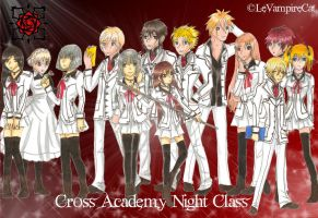 Cross Academy Night Class by Le-Vampire-Cat