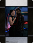 Mass Effect - Night at the Flux (Photo Frame) by Berserker79