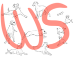 Greyhound Pose Set (THIS ISNT FREE) by walnutspice