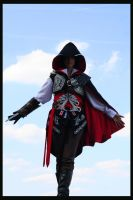 Ezio -test shot- 02 by mokona1986
