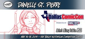 Dallas Comic Con 2014 Table Announcement! by DStPierre