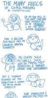 My Comic Making Process by Loverofpiggies