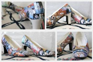 Doctor Who Heels by RawringKitty