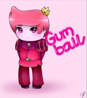 Prince Gumball .Adventure Time. by liliwuzherex