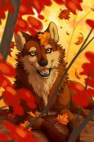 Playful Autumn by celesse