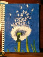 Make a wish Painting by AnaturalBeauty