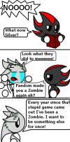 Shadow, Silver, and halloween by ARTic-Weather
