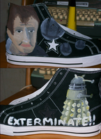 Doctor Who Shoes- Right by Night-Sky13