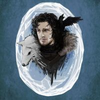 Jon Snow by Giando1611990