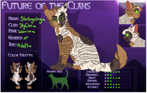 :FOTC: Starlingwing - Skyclan Warrior by FaIIenShadows
