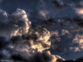 Some clouds by digitalminded