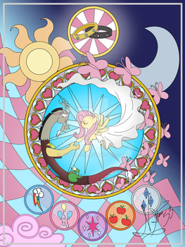 Stained Glass Poster Print by Nstone53