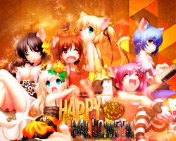 Halloween Special: WALLPAPER by Silas-Tsunayoshi