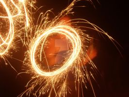 Playing with Sparklers 1 by shenny-lee