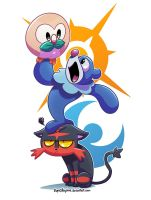 Poke'mon Babies - Rowlet, Popplio and Litten!