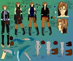 Adelphe McNeal: Full Reference by knightchick
