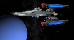 USS InuYasha NCC-1670 V2 by enterprisedavid