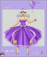 Gijinka Pokedex: Drifloon by 2Dea