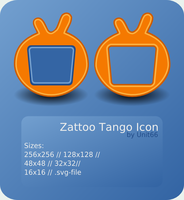 Zattoo Tango Icon by Unit66
