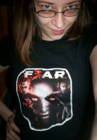 My F.3.A.R. t-shirt by LightninBluEyes